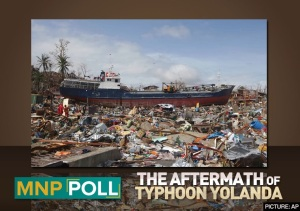 The Aftermath of Typhoon Yolanda