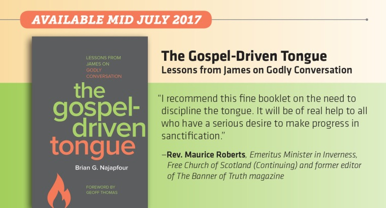 The Gospel-Driven Tongue for promotion